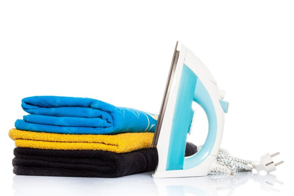 repasser linge serviette