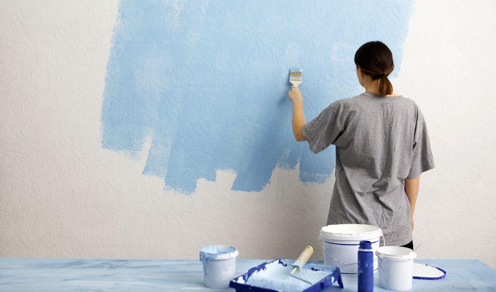 Décorer une pièce avec de la peinture à effet